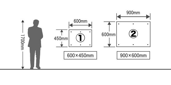 オリジナルプレート看板用テンプレート イラストレーター エクセル