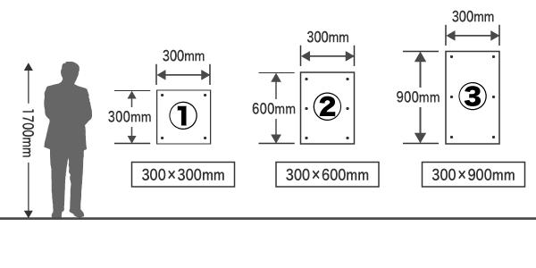 オリジナル誘導看板用テンプレート イラストレーター エクセル
