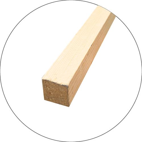 捨て看板の材質、素材 木枠