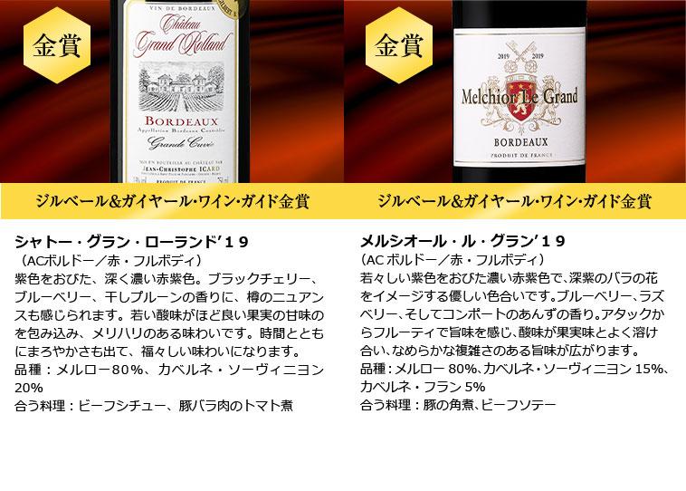 格上メドック&トリプル金賞入り!ボルドー金賞赤ワイン12本セット