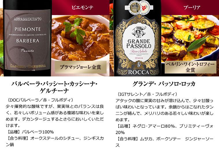 ダブル金賞&ルカ・マローニ98pt入り!イタリア「ベリ旨」赤ワイン9本セット