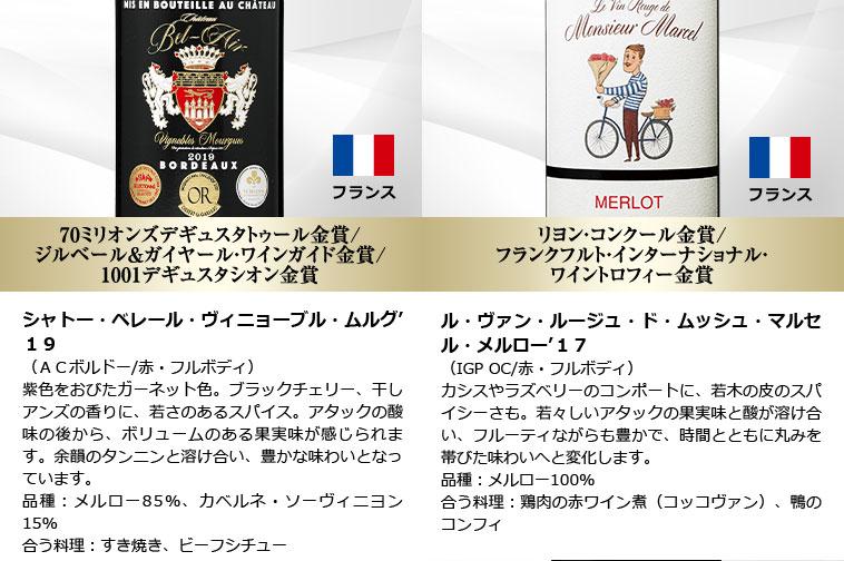 カロン・セギュール秘蔵ワイン&ブルゴーニュ&モエ・シャンドン入りフランス赤白泡10本