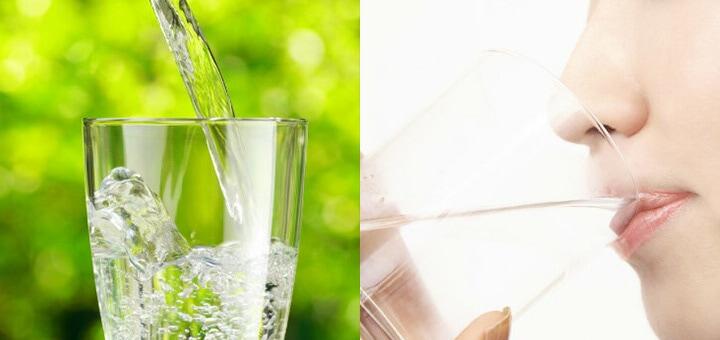 縄文水を飲む