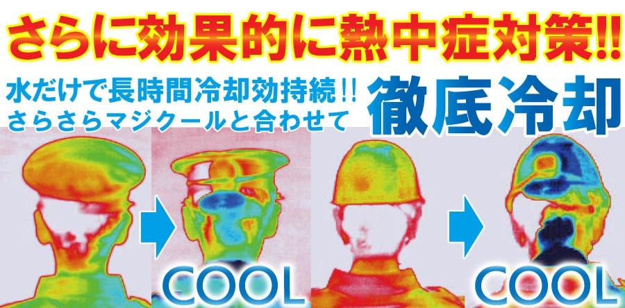屋内外現場作業員の暑さ対策・手ぶらで涼風・マイファンポケット
