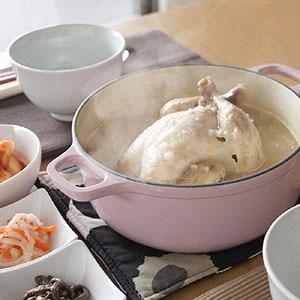 サムゲタン丸鶏とお粥 4個セット