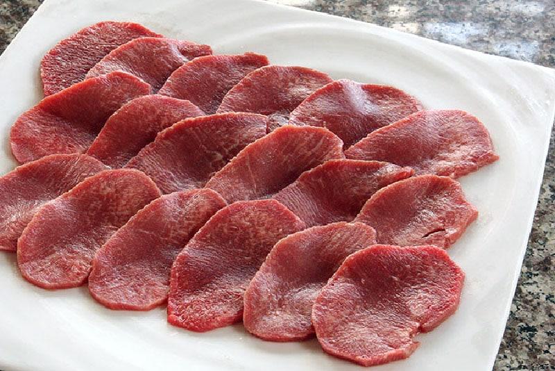 熟成赤タン 辛味噌焼き