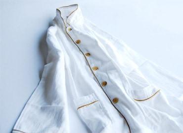 京和晒綿紗ガーゼパジャマ