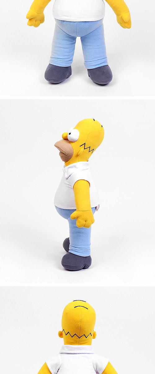 先払いのみ キャラクターグッズ The Simpsons ザ シンプソンズ シンプソン家 ホーマー シンプソン ぬいぐるみ 43cm ぬいぐるみ ぬいぐるみ 韓流ショップ