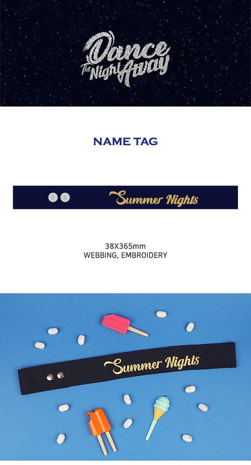 (先払いのみ)韓国スターグッズ TWICE(トゥワイス) SUMMER POP-UP STORE OFFICIAL MD - ネームタグ-韓流ショップ