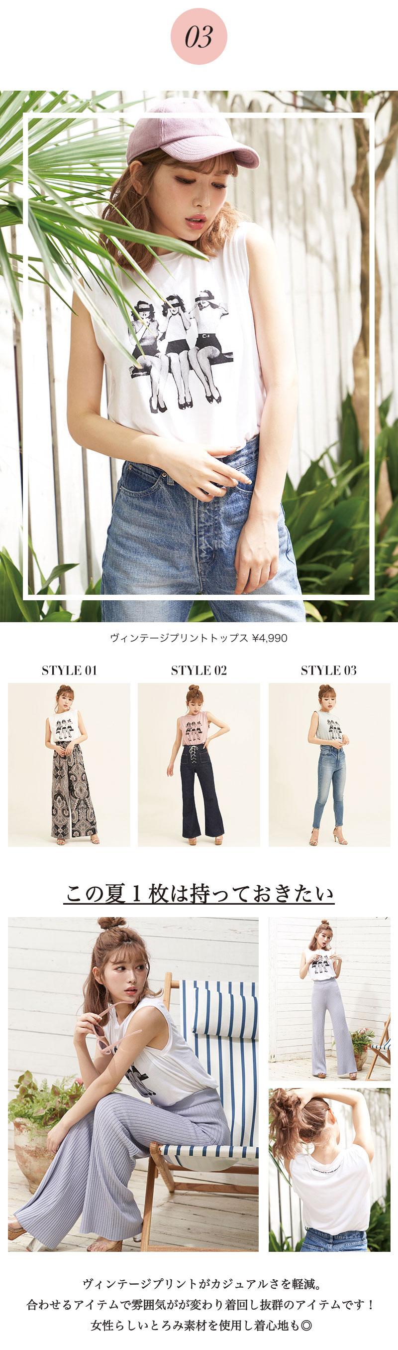 18SS トップスコレクション特集5