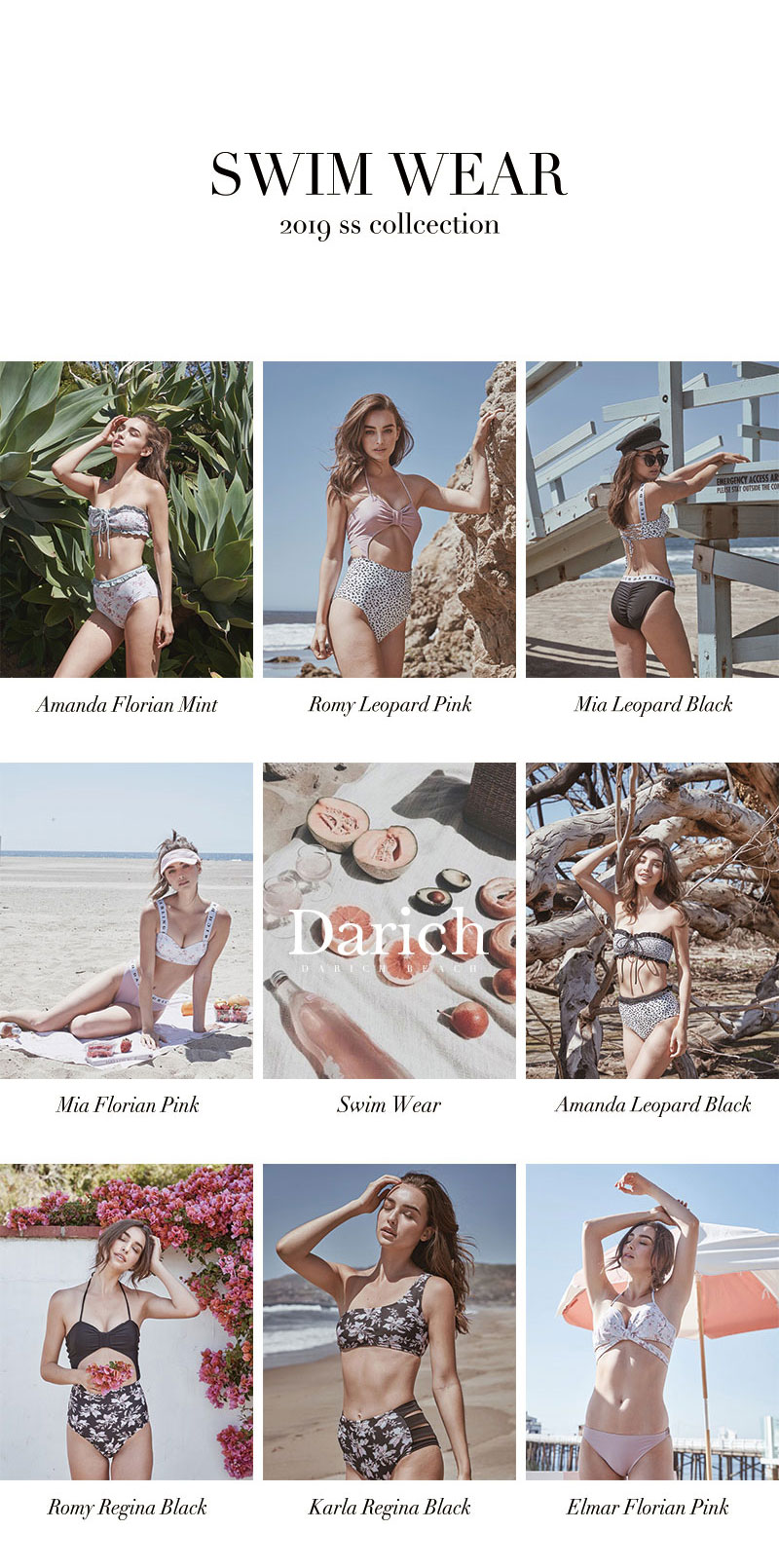 19SS SWIMWEAR COLLECTION特集1