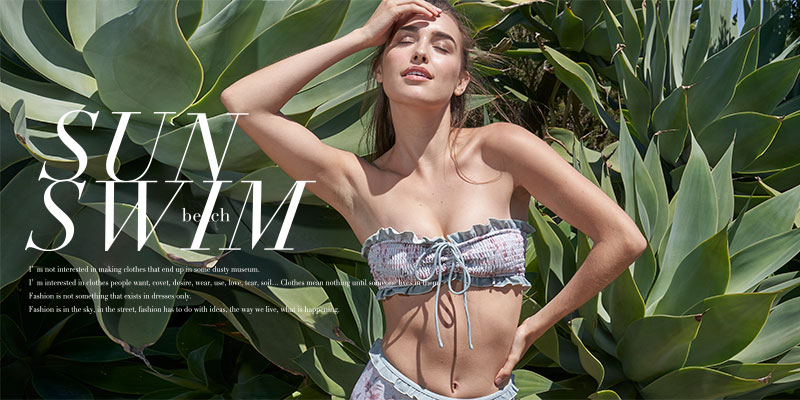 19SS SWIMWEAR COLLECTION特集バナー
