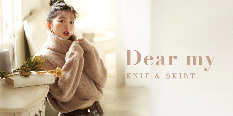 19AW Dearmyknit&skirt新作特集