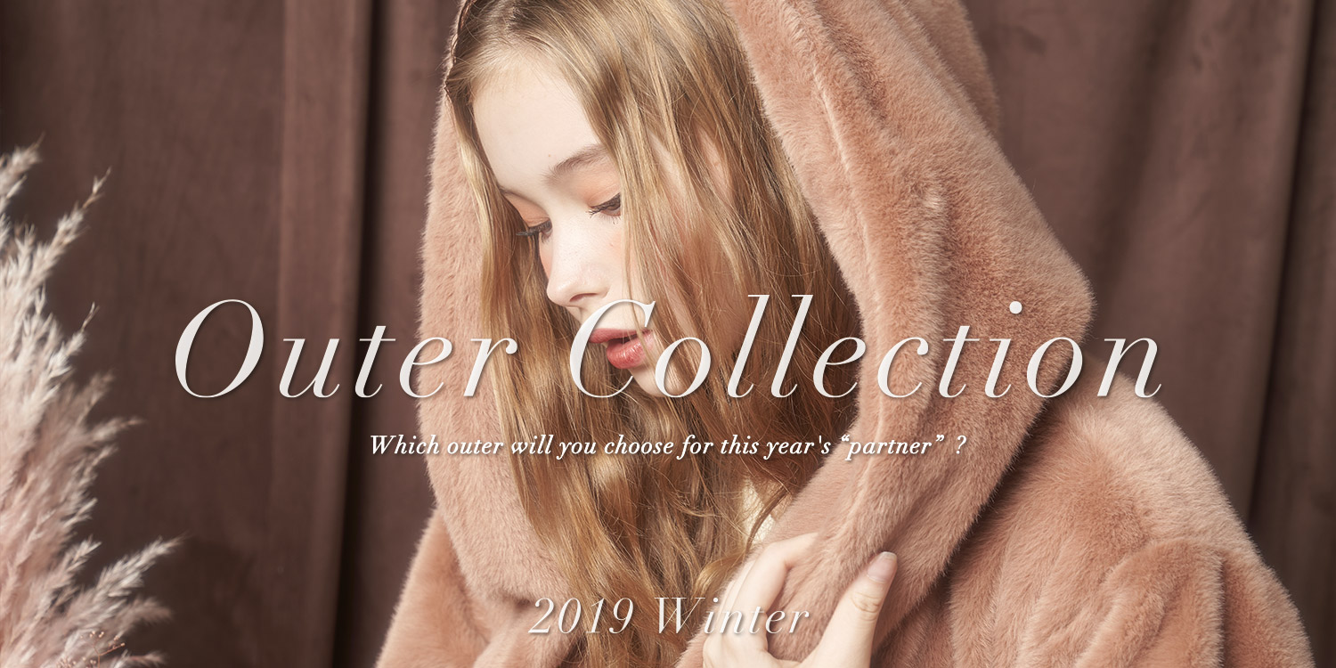 19AW OuterCollection特集バナー