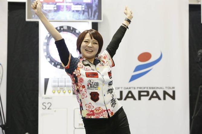 大会で勝利した岩田選手