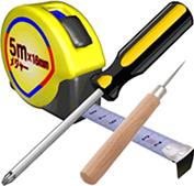 必要な工具を準備する