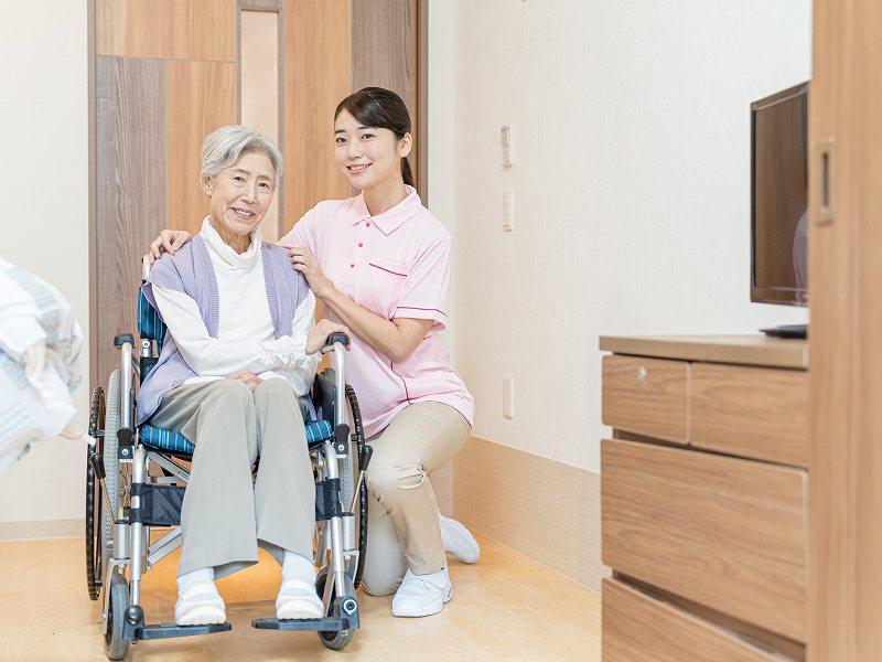 老人ホーム・サ高住に暮らす高齢者へ