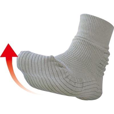 つまづきにくい転倒予防靴下