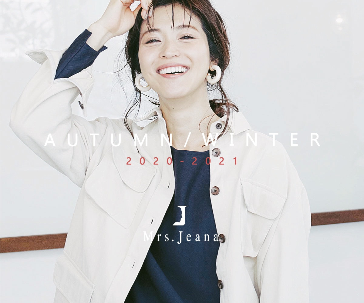 Mrs.Jeana 秋冬カタログ