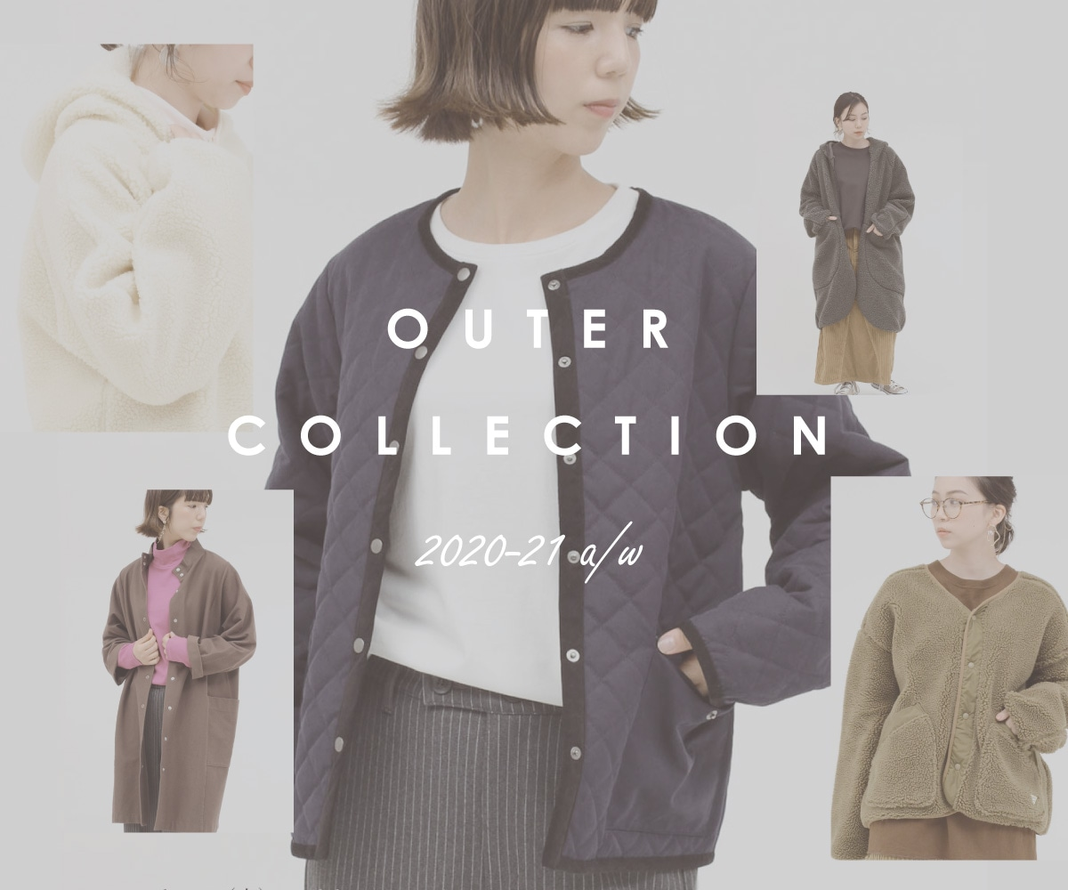 OUTER COLLECTION 2020-21AW