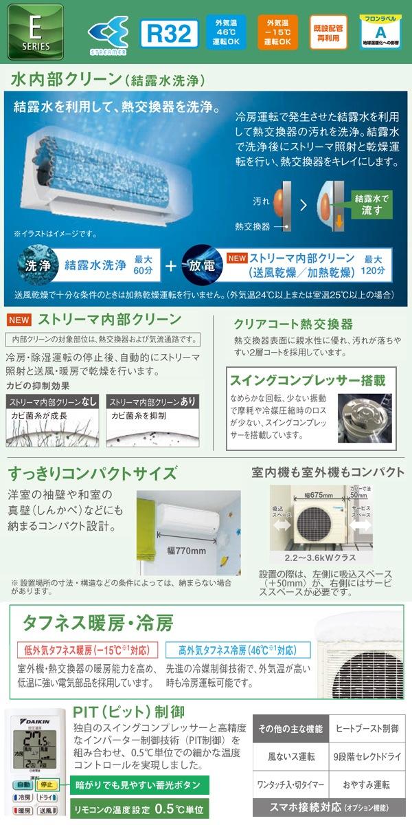 エアコン商品説明