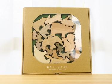 【森のどうぶつみき】国産材使用で無塗装、安心安全の木のおもちゃ