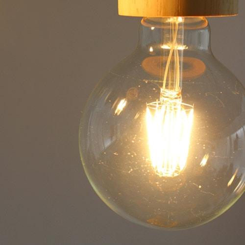 LEDフィラメント電球 ボール