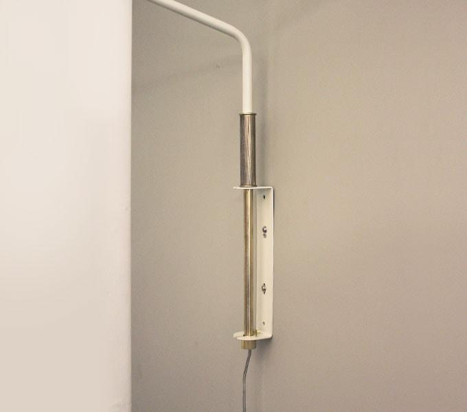Arles wall lamp 取り付け部分