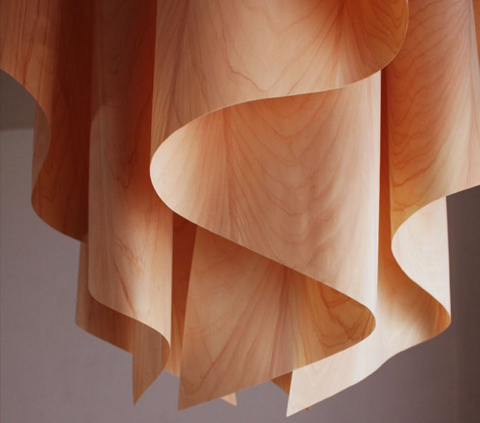 Auro-wood M pendant lamp 消灯時