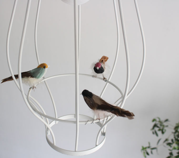 Cesto pendant lamp 小鳥