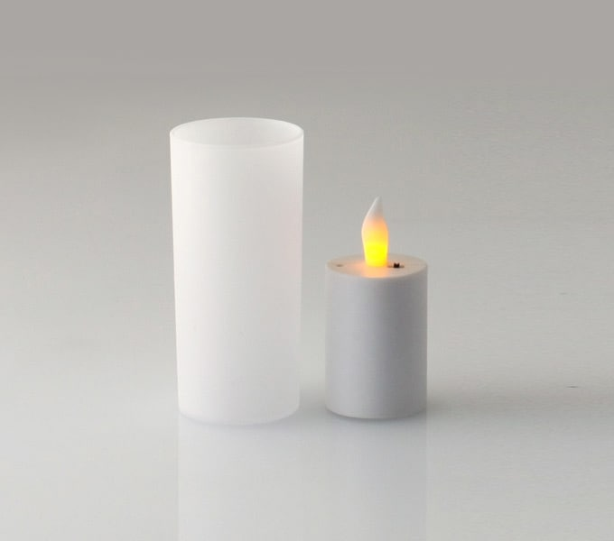 Cuore LED candle シェードと本体