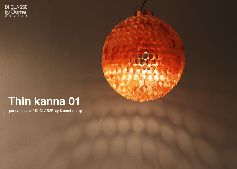 Thin kannna01 pendant lamp DI CLASSE by Domei desing