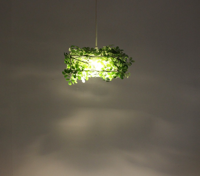 LED Alloro pendant lampの影