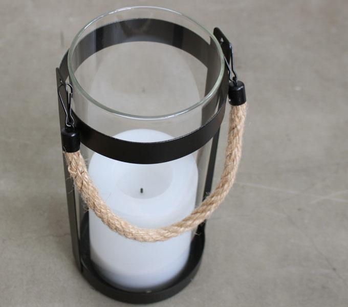 LED Solar lantern Notte 上から