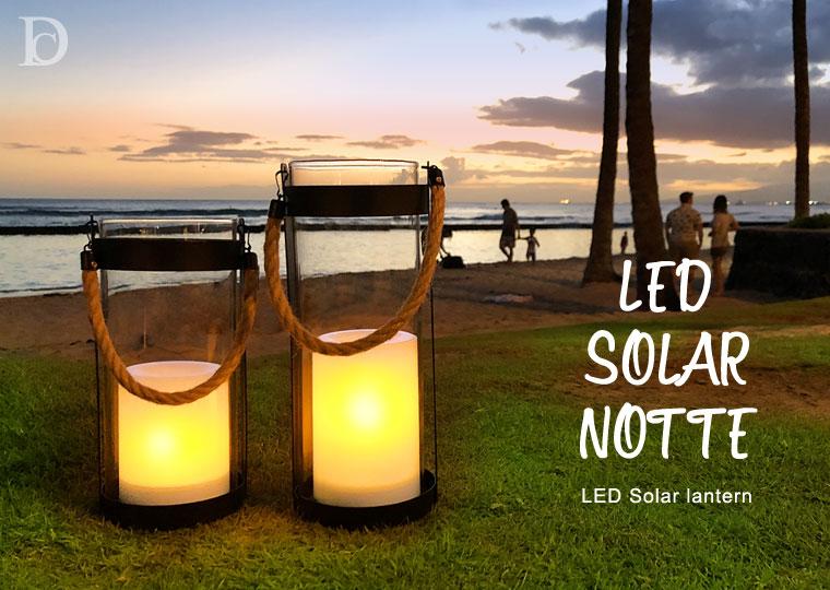 LED Solar lantern Notte