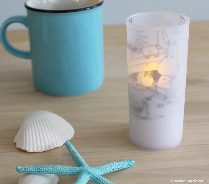 クオーレ ムーミン LED candle ホワイト