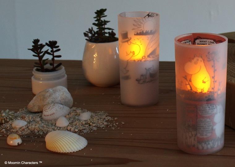 クオーレ ムーミン LED キャンドル