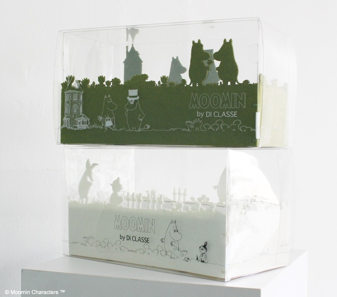 Tissue Case moomin パッケージ