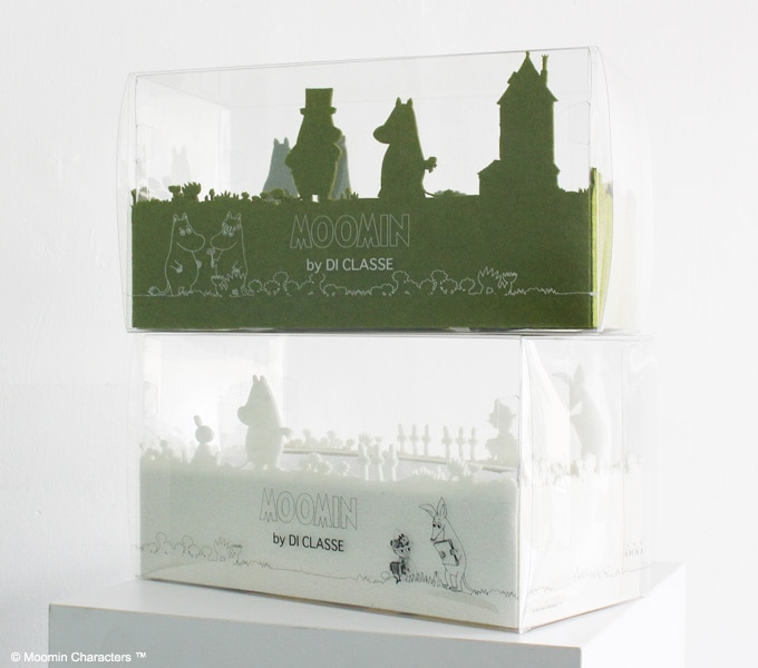 Tissue Case moomin パッケージ