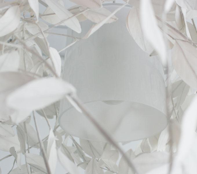 Paper-Foresti grande pendant lamp ガラスシェード