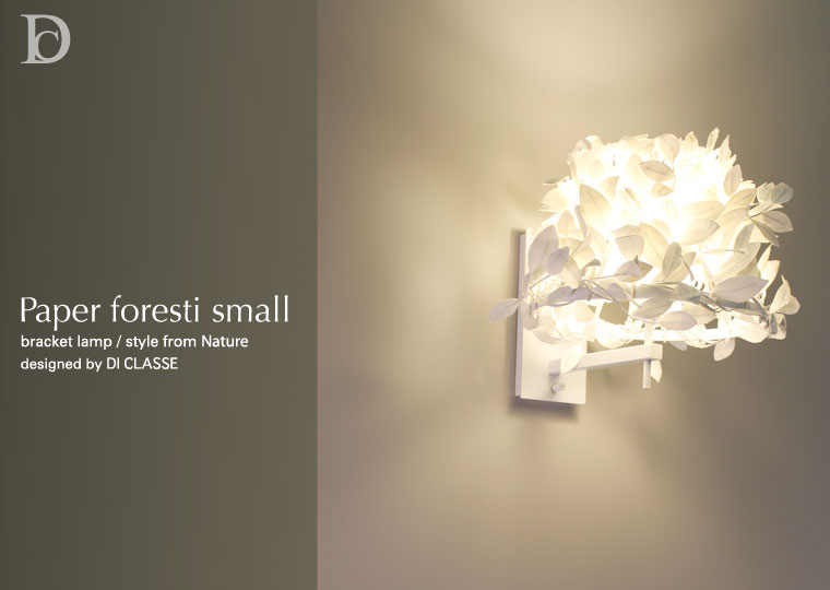 Paper foresti small bracket lamp