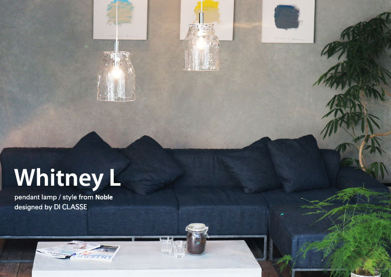 Whitney L pendant lamp