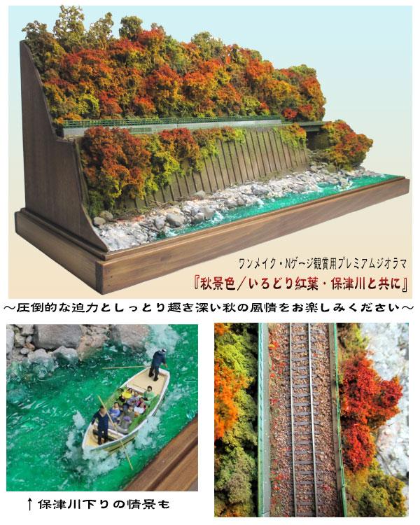 ワンメイクNゲージ観賞用ジオラマ