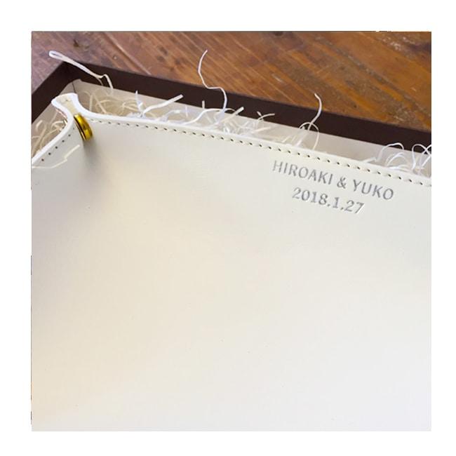 革婚式・レザートレー・革小物・プチギフト・名入れギフト・名前入りプレゼント・参考写真001