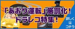 """「あおり運転」厳罰化!ドラレコ特集!""""/"""