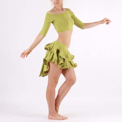 ベリーダンス スカート25ヤード、シフォン生地ジプシースカートお手元の衣装と組合わせて オリジナリティートライバル衣装をアレンジしてみては?アラジンパンツと合わせても良し、 スカートの丈お直し可能です。