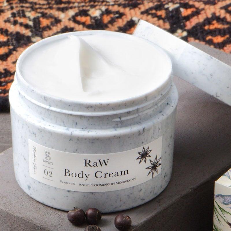 DRESSKIN,SWATi,スワティ,RaW Body Cream,ボディークリーム