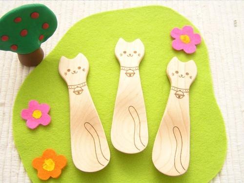 ネコのスプーン