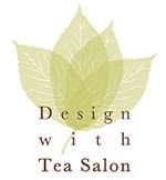 design with tea salon logo
