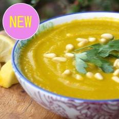 モリンガレンズ豆スープ
